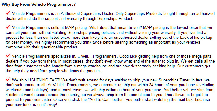 Why Buy From Vehicle Programmers